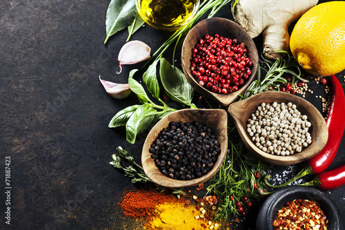 Herbs and spices selection - 71887423