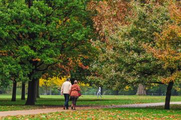 秋のロンドン ハイドパーク Hyde Park London