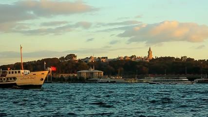 Istanbul - Ferry near Topkapı Palace