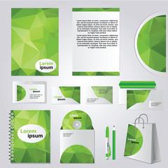 Corporate identity design vector