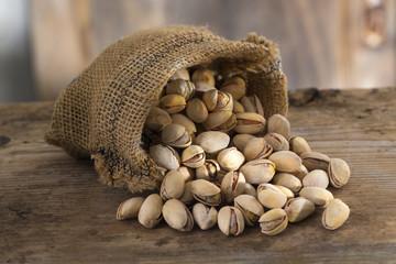 sac de pistaches grillées
