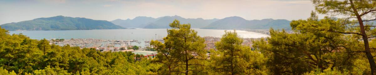 Landscape of Marmaris Harbor