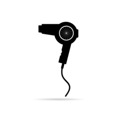 hairdryer vector illustration