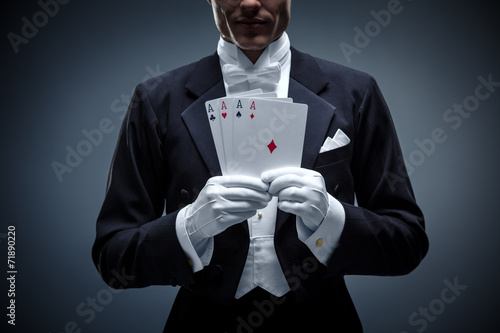 canvas print picture Gambling
