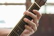 Leinwanddruck Bild - Guitar effort