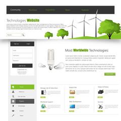 Green Eco Website Template