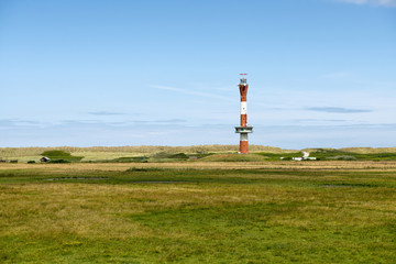 The new lighthouse in Wangerooge