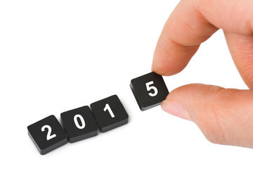 Numbers 2015 and hand