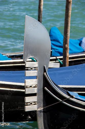Fotobehang Gondolas venezianische Gondel