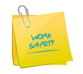 work safety memo post illustration