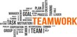 word cloud - teamwork