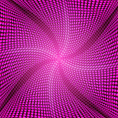 Pink dot abstract background