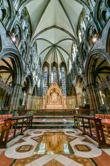 St. Mary's Episcopal Cathedral interior, Edinburgh