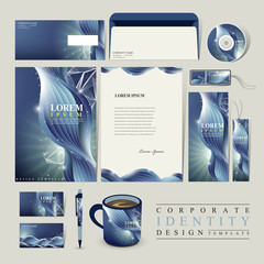 abstract technology background for corporate identity