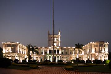 Palacio de Lopez at sunset