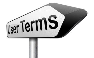 user terms