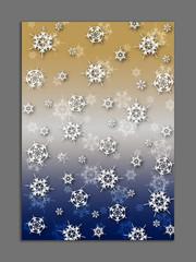 tło śnieżynki 3
