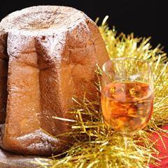 Pandoro cake for Christmas