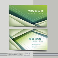 hi-tech background design for business card