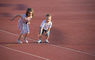 childrens  running