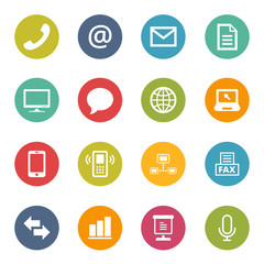 Communication Icons Iconset