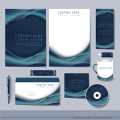 creative hi-tech background for corporate identity