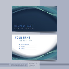 creative hi-tech background for business card
