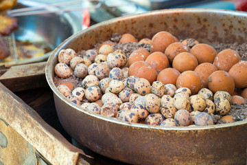 gekochte Eier