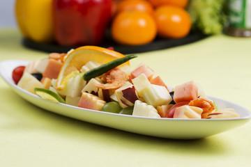 Spicy Fruit Salad Thai style