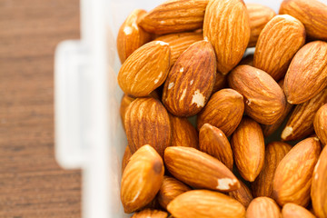 almond in box