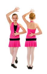 Preteen Jazz Dance Duo