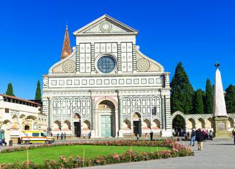 Basilica of Santa Maria Novella in Florence. Italy