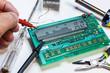 controllo su scheda elettronica - 71900847