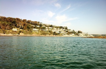 salcombe from the sea