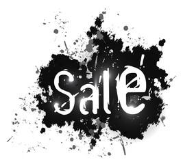 Sale grunge background