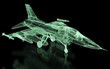 Jet Fighter Aircraft  Mesh
