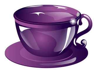 the violet cup