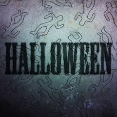 Happy halloween! Crime scene background