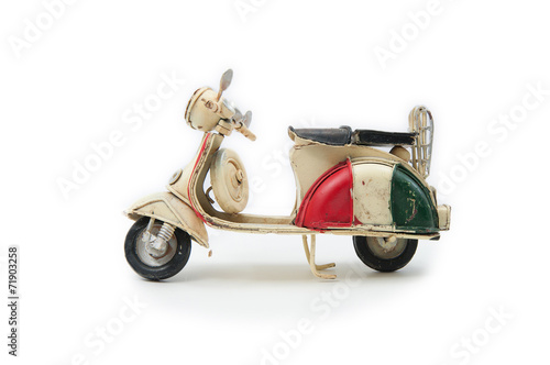 03 Handmade Italian Moped - 71903258
