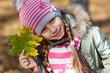 little girl in park.
