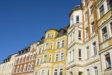 Modernisierte Altbauten aus der Gründerzeit