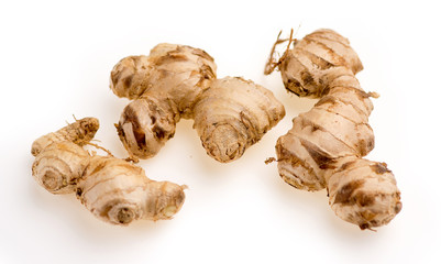 Raw Australian ginger root