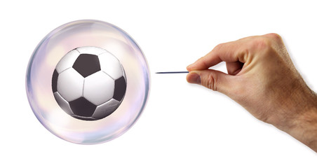 The soccer (football) bubble about to be exploited