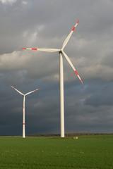 Windpark in Deutschland