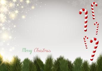 Hintergrund Weihnachten Christmas / Zuckerstangen candy cane