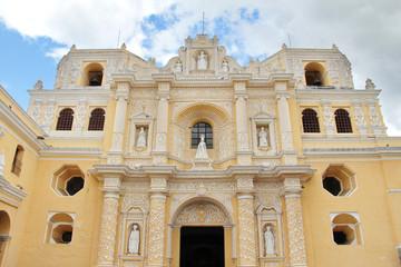 Antigua, Guatemala: La Merced Church, built in 1767