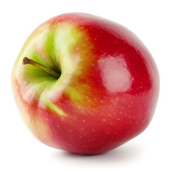 Red apple with a tail