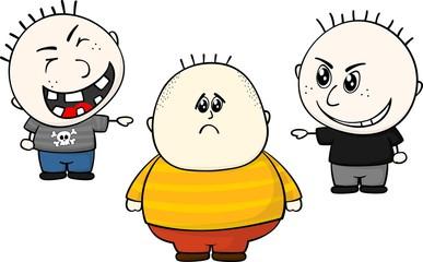 bullying obese children