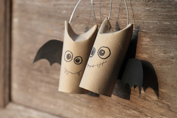 Halloween Bat Family