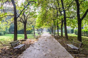 Italia, Sesto s.Giovanni, giardino Tevere